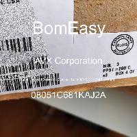 08051C681KAJ2A - AVX Corporation - Multilayer Ceramic Capacitors MLCC - SMD/SMT