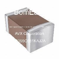08055C681KAJ2A - AVX Corporation - Multilayer Ceramic Capacitors MLCC - SMD/SMT