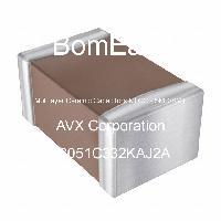 08051C332KAJ2A - AVX Corporation - Multilayer Ceramic Capacitors MLCC - SMD/SMT