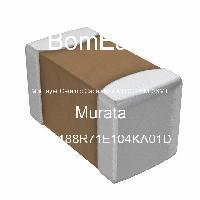GRM188R71E104KA01D - Murata Manufacturing Co Ltd