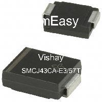 SMCJ43CA-E3/57T - Vishay Semiconductors