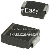 5KASMC26AHM3/57 - Vishay Semiconductor Diodes Division - TVS Diodes - Transient Voltage Suppressors
