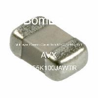 08055K100JAWTR - AVX Corporation - Multilayer Ceramic Capacitors MLCC - SMD/SMT