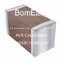 06033C182KAJ2A - AVX Corporation - Multilayer Ceramic Capacitors MLCC - SMD/SMT