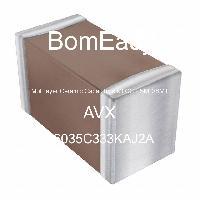 06035C333KAJ2A - AVX Corporation - Multilayer Ceramic Capacitors MLCC - SMD/SMT