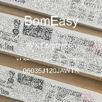 06035J120JAWTR - AVX Corporation - Multilayer Ceramic Capacitors MLCC - SMD/SMT