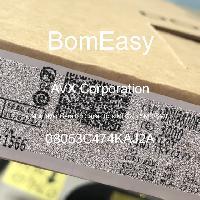08053C474KAJ2A - AVX Corporation - Multilayer Ceramic Capacitors MLCC - SMD/SMT