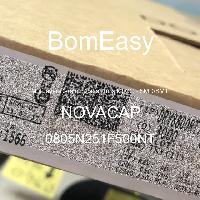0805N251F500NT - NOVACAP - Multilayer Ceramic Capacitors MLCC - SMD/SMT