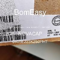 0805E223K250PHT - NOVACAP - Multilayer Ceramic Capacitors MLCC - SMD/SMT