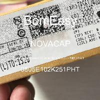 0805E102K251PHT - NOVACAP - Tụ gốm nhiều lớp MLCC - SMD / SMT
