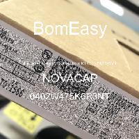 0402W475K6R3NT - NOVACAP - Multilayer Ceramic Capacitors MLCC - SMD/SMT