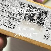 557G-06LFT - Renesas Electronics Corporation - Clock Generators & Support Products