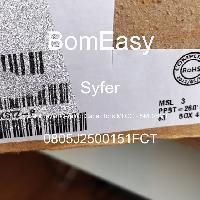 0805J2500151FCT - Syfer - Multilayer Ceramic Capacitors MLCC - SMD/SMT