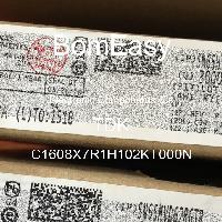 C1608X7R1H102KT000N - TDK