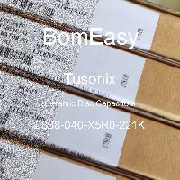 0838-040-X5R0-221K - Tusonix - Ceramic Disc Capacitors