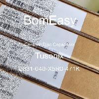 0831-040-X5R0-471K - Tusonix - Ceramic Disc Capacitors